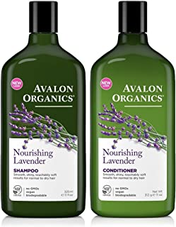 product image for Avalon Organics Lavender Nourishing Shampoo & Conditioner Duo, 11 oz
