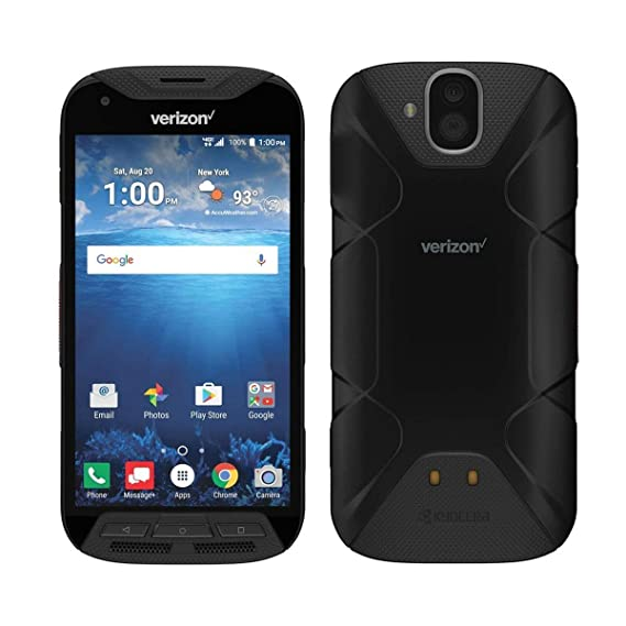 Kyocera DuraFORCE E6810 Pro w/Sapphire Shield Verizon Rugged 4G Android  Smart Phone (Renewed)