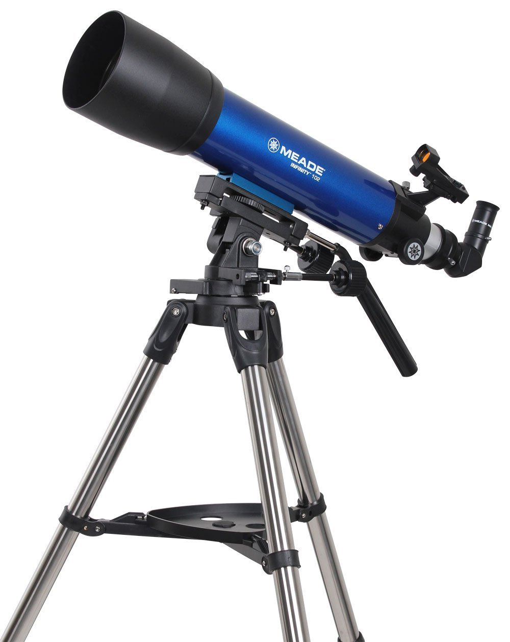 Meade Instruments Infinity 102mm AZ Refractor Telescope (Renewed) by Meade Instruments