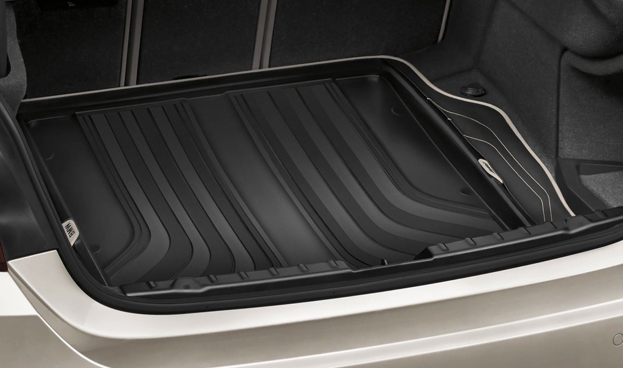 BMW Genuine Fitted Trunk Luggage Compartment Mat Rear Cargo Liner 51472357150