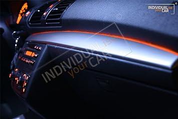BMW 1er E81 E82 E87 E88 Armaturenbrett EL Ambiente Lichtleiste Set ... | {Armaturenbrett bmw 58}