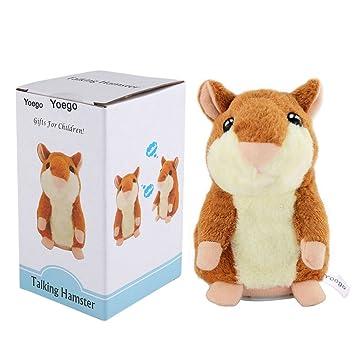 Amazon Com Yoego Cute Mimicry Pet Talking Hamster Repeats What You