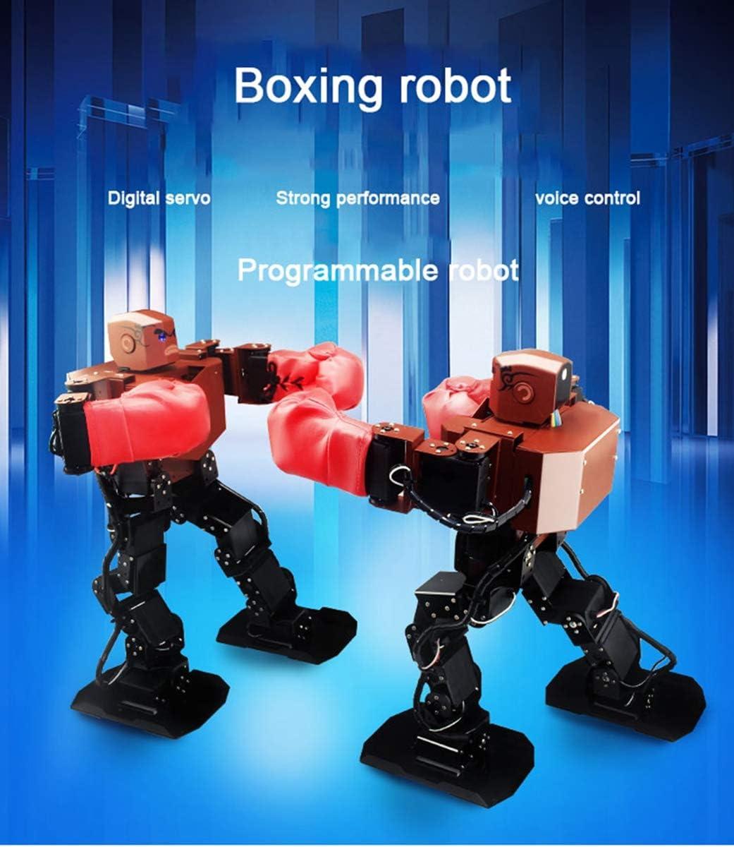 HARLT Boxeo Inteligente Lucha Robot Humanoide Programable Soporte De MP3 Espectáculo De Danza Educativos Científicos De Alto Juguetes Tecnológicos: Amazon.es: Deportes y aire libre