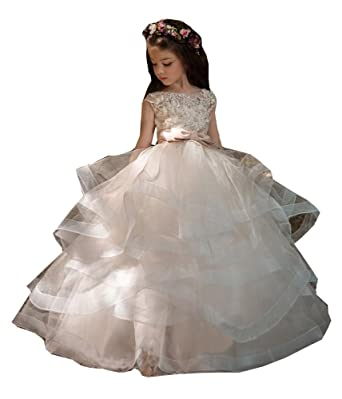 Amazon.com: Magicdress Flower Girls Dresses for Weddings Country ...