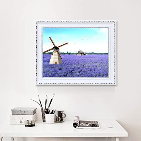 metro pintura decorativa caja Salón de paisaje rural caja de distribución bloquear las cajas de interruptor cuadro decorativo-J 60x70cm(24x28inch): Amazon.es: Hogar