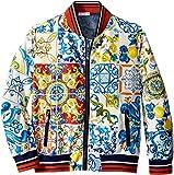 Dolce & Gabbana Kids Boy's Nylon Maiolica Jacket