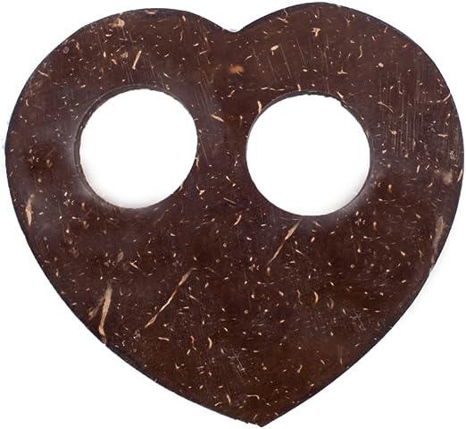 Sarongschnalle Pareo Wickel Rock Schnalle Spange Schliesse aus Kokos zum Sarong binden Sieben Verschiedene Formen zur Auswahl