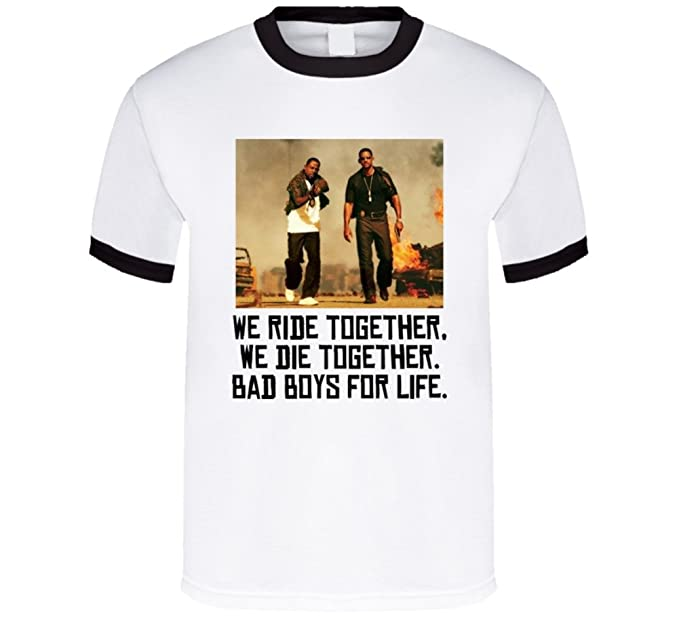 151b0a454d0 Amazon.com  Bad Boys Movie Quote T Shirt  Clothing