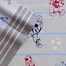 Disney Full Size Heavyweight 4-Piece Flannel Sheet Set, Mickey Mouse