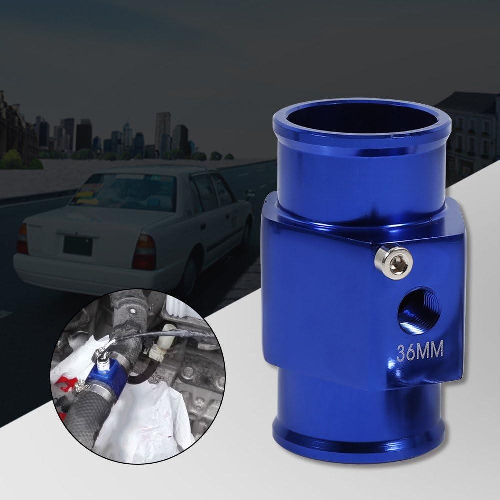 36mm Bleu Temp/érature De Leau Joint Tuyau Temp Capteur Jauge Tuyau De Radiateur Adaptateur Temp Capteur Jauge Tuyau De Radiateur