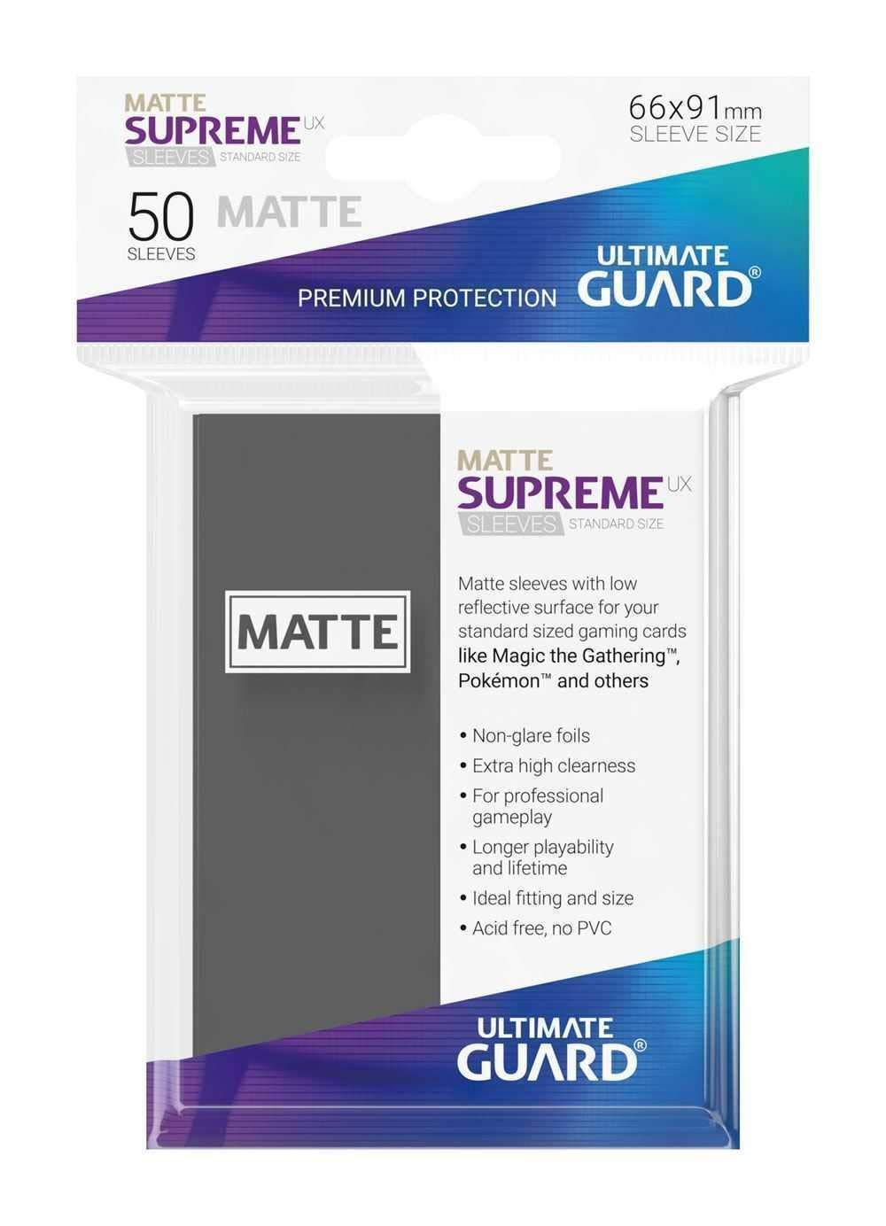 Ultimate Guard Supreme UX /Étui pour Jeu de Cartes Noir