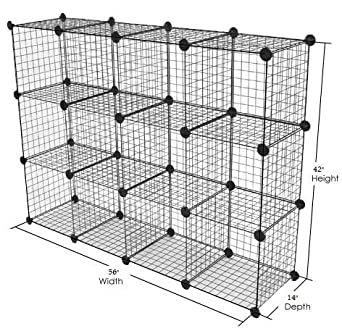 Delicieux Only Garment Racks Metal Wire Storage Cubes, Modular Shelving Grids, Mini  Grid Clothes Organizer