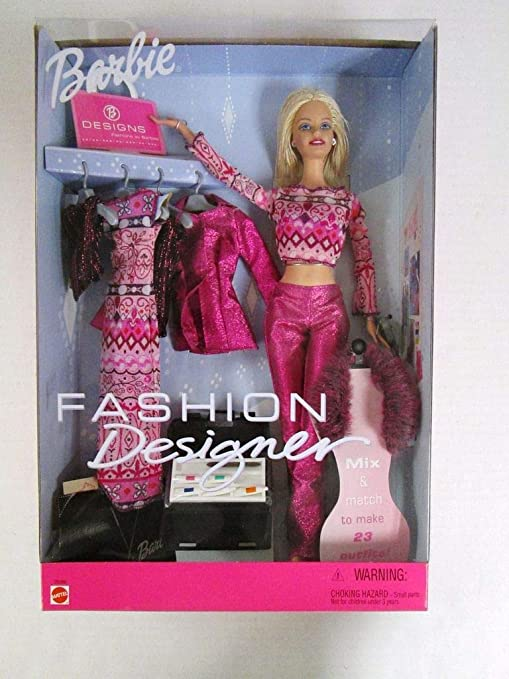 Barbie Fashion Designer 29399 Dolls Amazon Canada