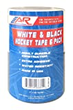 A&R Sports Combo Hockey Tape Black & White - 6 Pack