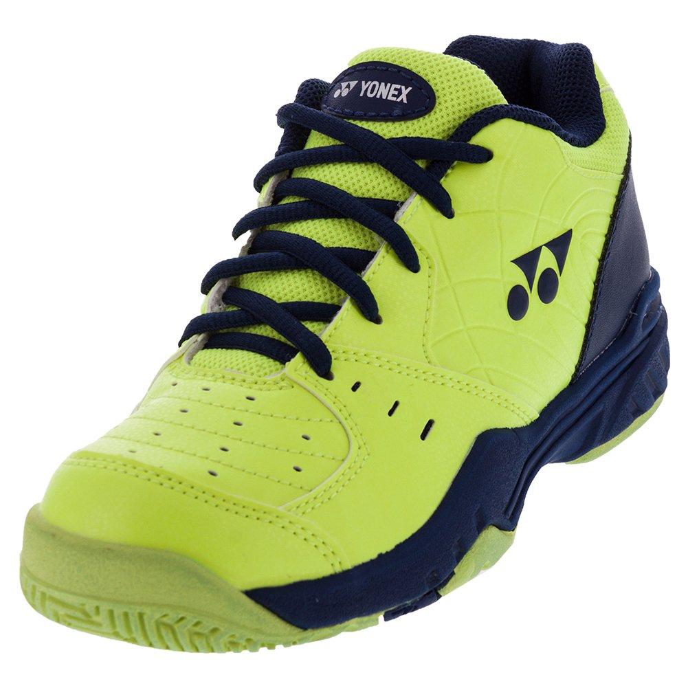 Yonex Power Cushion Eclipsion Junior Tennis Shoes - Yellow/Navy B01N80K8V8 6 D(M) US