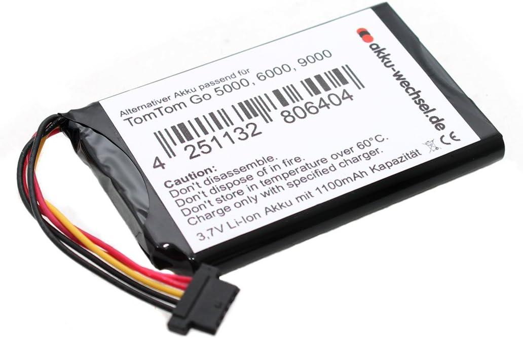 Battery For Tomtom Go 5000 5100 Go 6000 Go 6100 And Go 9000 Elektronik
