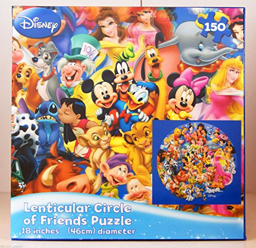 Lenticular Circle of Friends Puzzle, 150 - Puzzle Piece 150