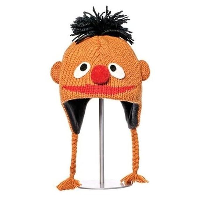 Amazon.com  Knitwits Delux Ernie Children s Orange Wool Knit Beanie ... 2a78781ebc0