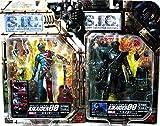 Bandai S.I.C. 01 Kikaider / 04 Hakaider