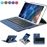 Samsung Galaxy Tab A 10.1 Teclado Funda, Dingrich Bluetooth Inalámbrico Removible Teclado Funda Case