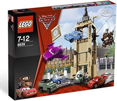 Amazon Com Lego Cars Big Bentley Bust Out 8639 Toys Games