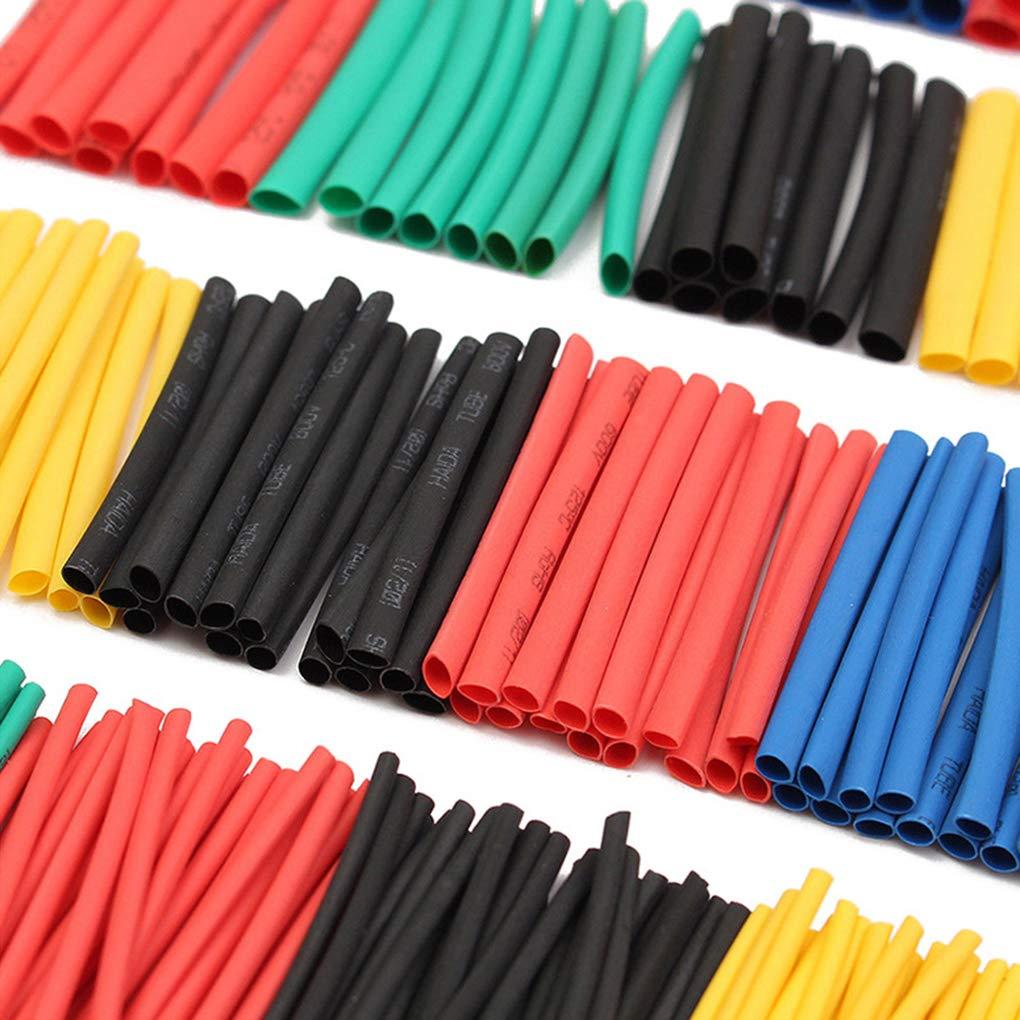 Kit Guaine isolanti Cdrox Set di Tubi termorestringenti per Isolamento 2:1