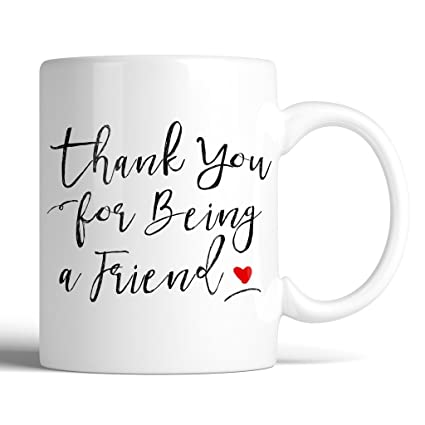 The Golden Girls Thank You For Being A Friend 11oz Ceramic Coffee Mug