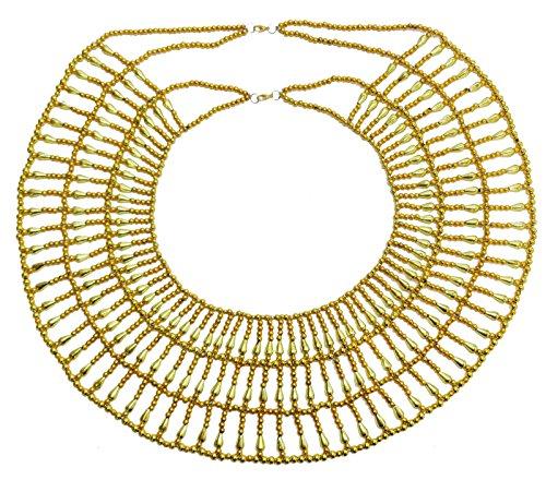 bonballoon Egyptian Hand Made Multi Beads Cleopatra Nefertiti Queen Style 14
