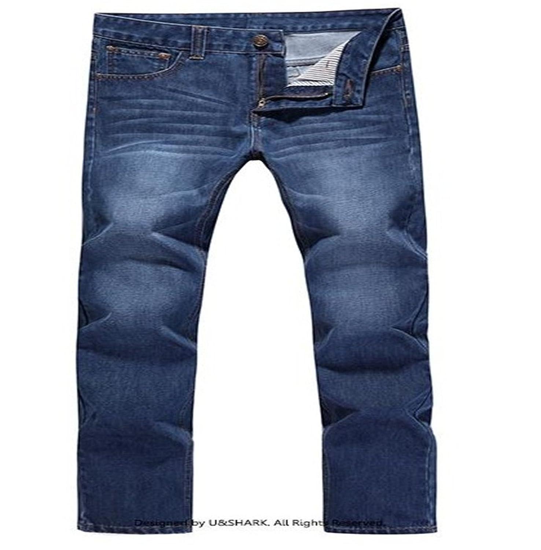 U-SHARK Leisure Straight Jeans KZ29