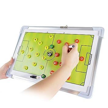 KMDL Pizarras Tablero de táctica magnética de fútbol Soccer ...
