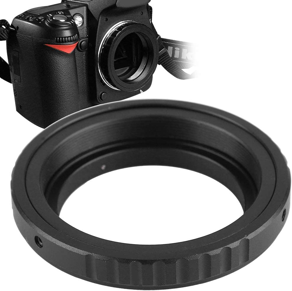 for Nikon M48-AI Lens Adapter Ring to Telescope Eyepiece for Nikon AI for Canon EOS Camera M480.75 Lens Mount Adapter Ring