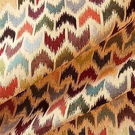 Tela por metros de tapicería - Jacquard Gobelino - Ancho 280 cm - Largo a elección de 50 en 50 cm | Chevron