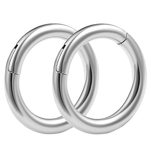Amazon.com: 2pcs 14 g 5/16 con bisagras anillos Segmento ...