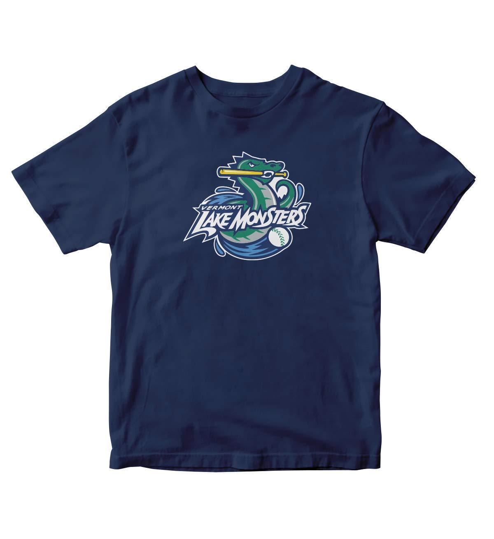 Tjsports Vermont Lake Monsters Baseball Navy Blue Shirt S