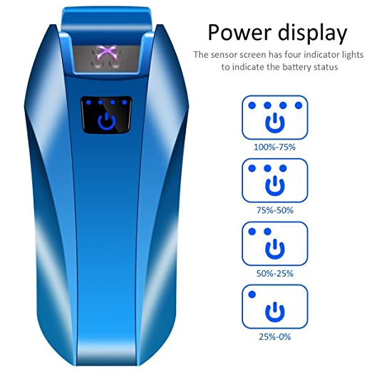 Lighters Dual Arc Lighter USB Lighter Plasma Electronic Rechargeable Flameless Windproof Touch Swich...