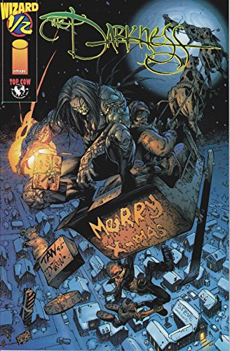 The Darkness #1/2 Top Cow Wizard Christmas Variant Cover with COA