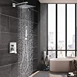 Esnbia Luxury Rain Shower System Wall Mounted Shower Review and Comparison