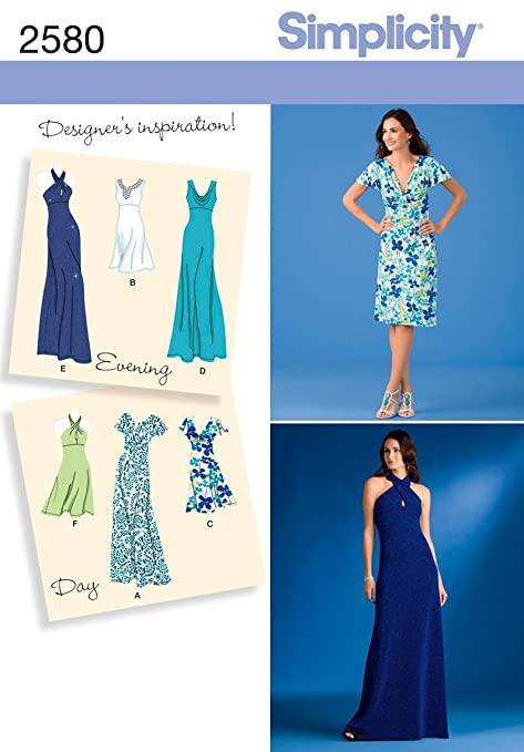 Simplicity R5 14-16-18-20-22 Sewing Pattern 2580 Misses Special ...
