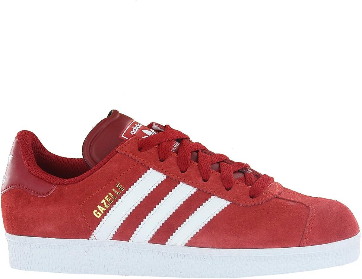 Eclipse solar Adulto Acción de gracias  Adidas Gazelle II Red Mens Trainers Size 8.5 UK: Amazon.co.uk: Shoes & Bags
