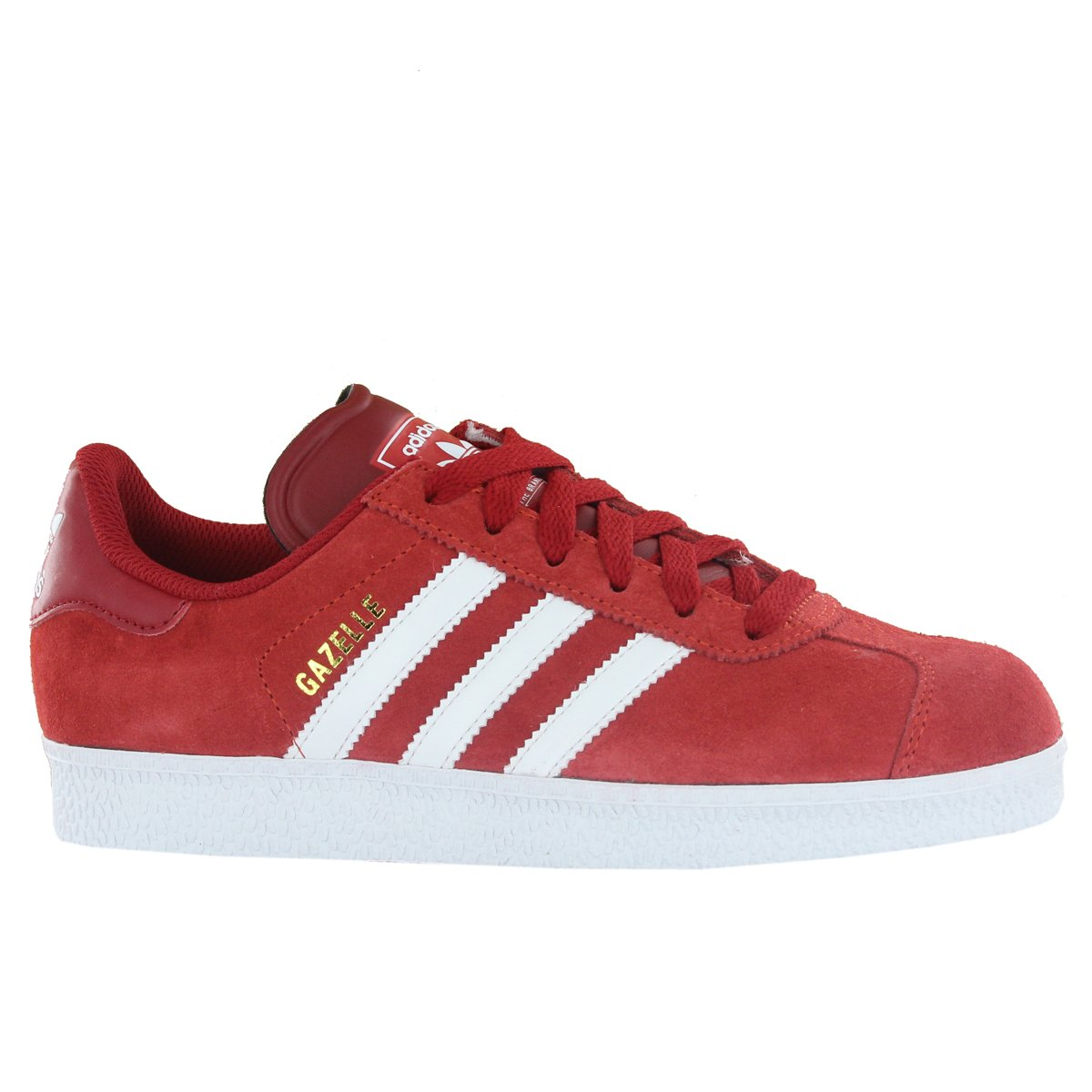 uk availability cb82d b1a3f Adidas Gazelle II Red Mens Trainers Size 8.5 UK  Amazon.co.uk  Shoes   Bags