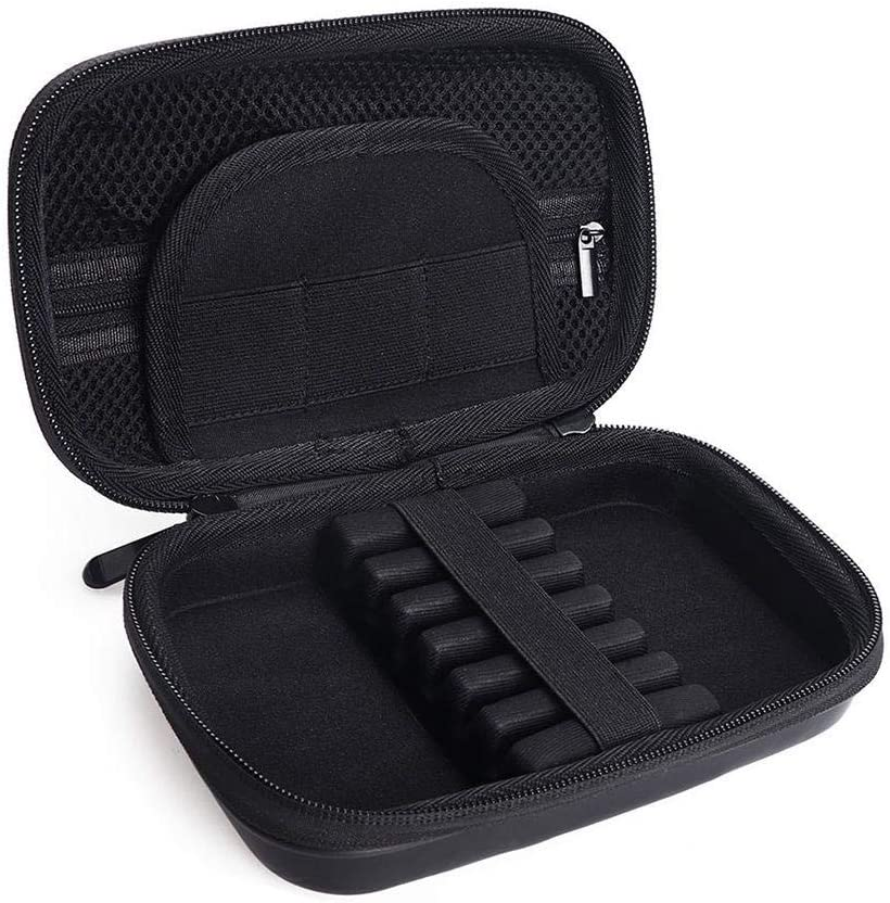 tragbare Dartbox-Aufbewahrungsbox mit Kompression 7,8 4,84 1,85 Zoll jaspenybow Eva-Schaumschalen-Dartbox 6 Beh/älter-Darts geeignet f/ür Casemaster Sentinel-Dartbox
