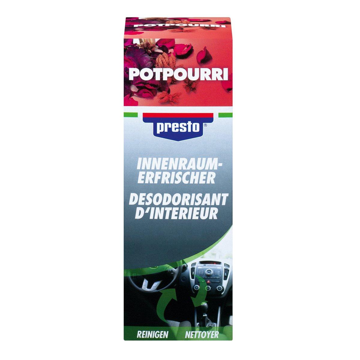 Presto! 157103 Desinfectante/purificador Aire Acondicionado: Amazon.es: Coche y moto