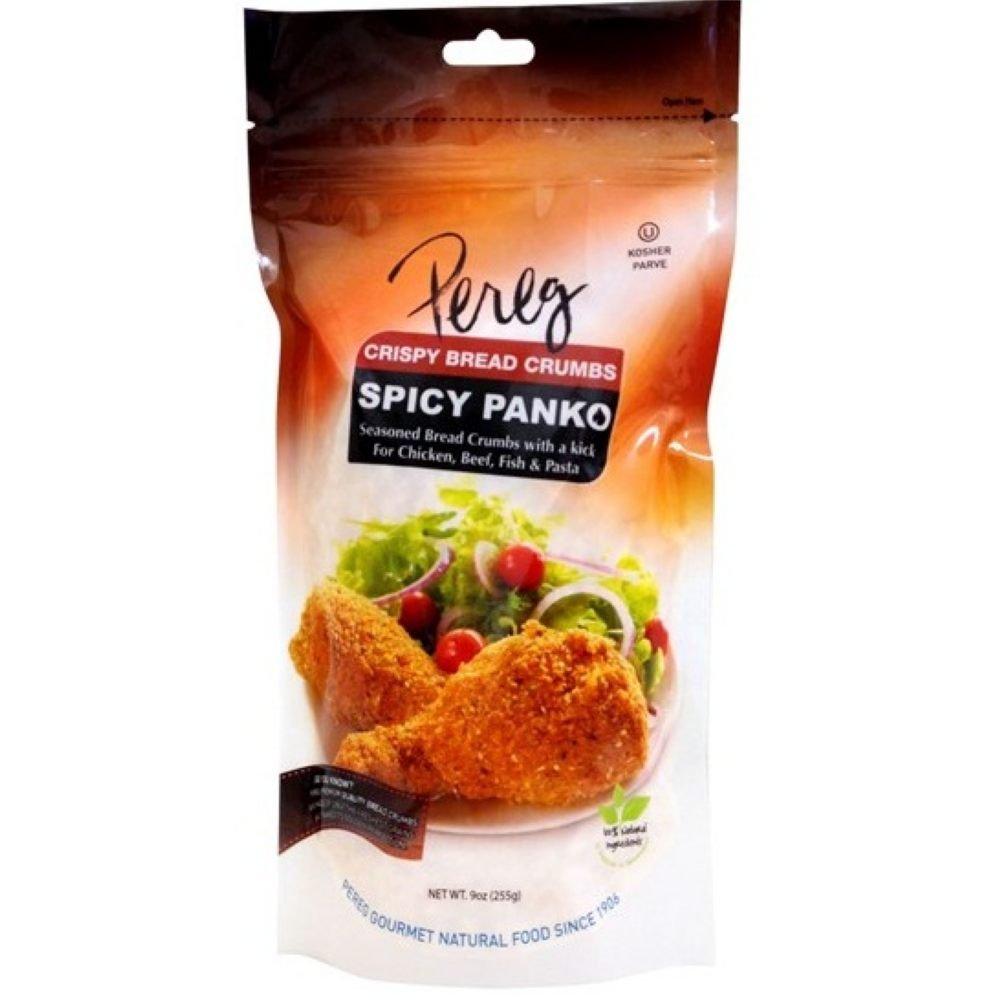 Pereg Spicy Panko Bread Crumbs, 9 Ounce -- 12 per case.