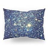 Society6 GalaxY Stars : Midnight Blue & Gold Pillow Sham Standard (20'' x 26'') Set of 2
