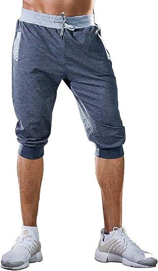 Herren Shorts Sports Kurze Hose Capri Sweathosen Jogginghosen Freizeit Bermudas