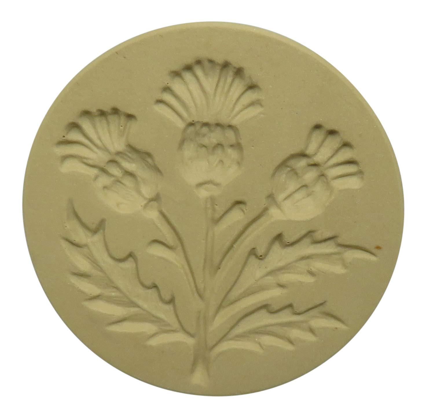 Brown Bag Thistle Cookie Stamp - British Isle Series