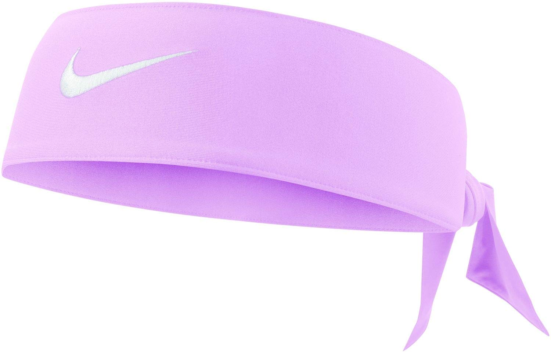 Nike Dri Fit Head Tie (Pink Foam/White)