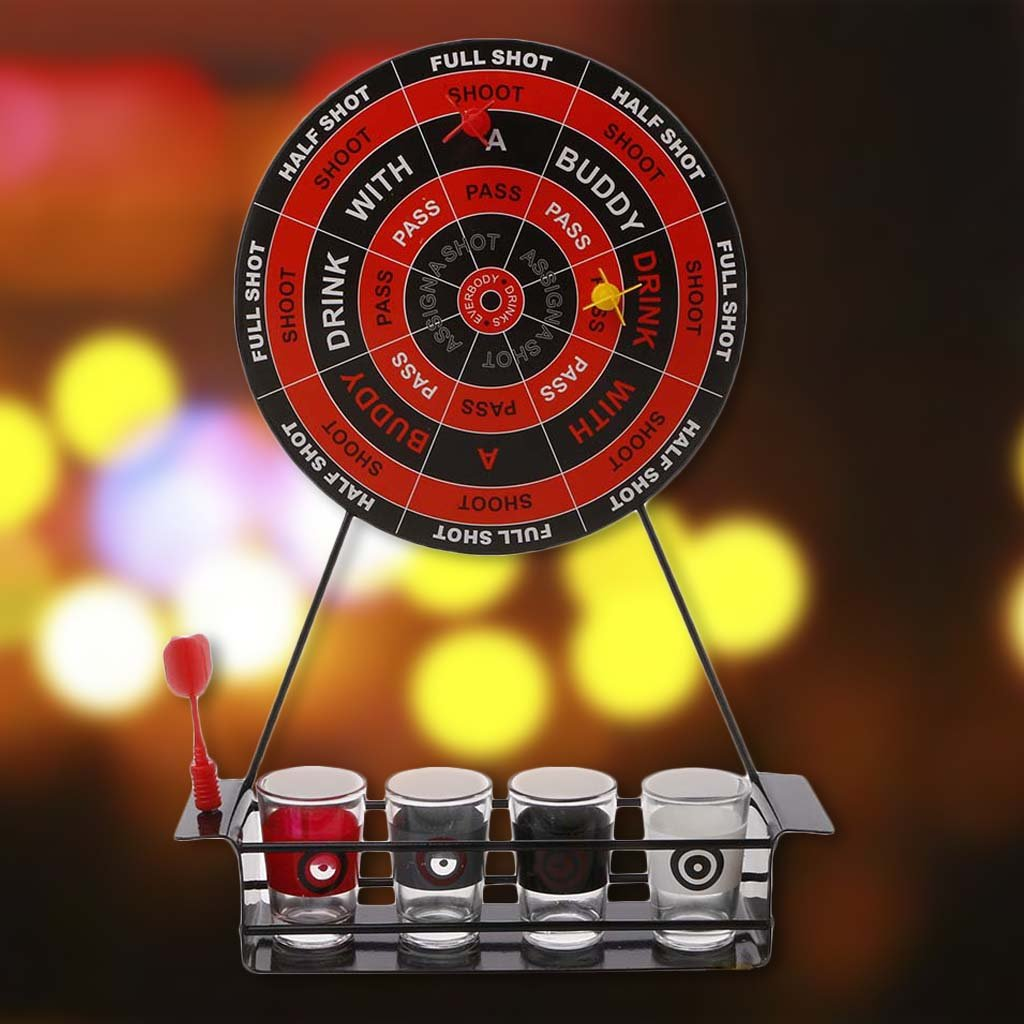 Amazon.com: JAGENIE Novelty Darts Shots Drinking Game Set Magnetic Board Game Adult Party Gift Funny: Home & Kitchen