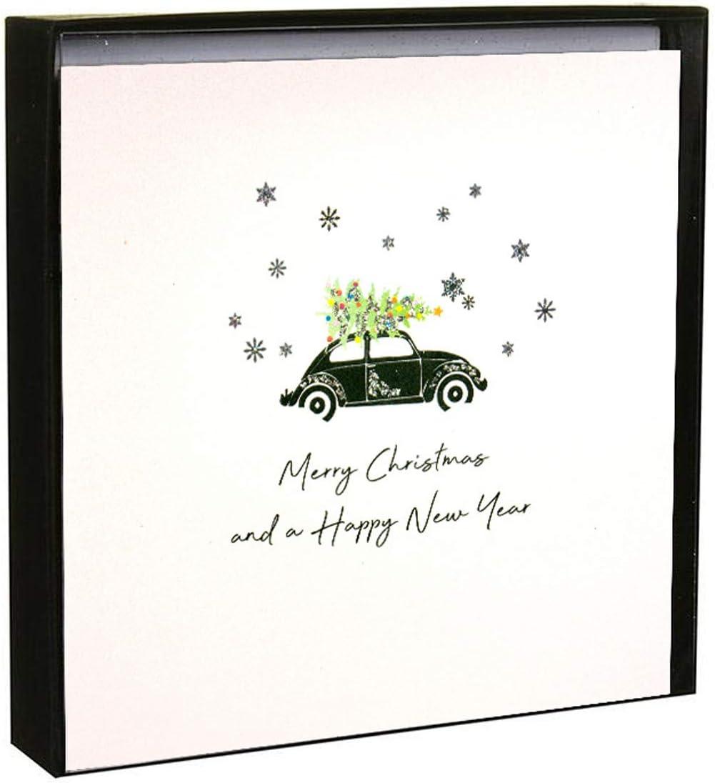 Tarjetas de Navidad con texto en inglés