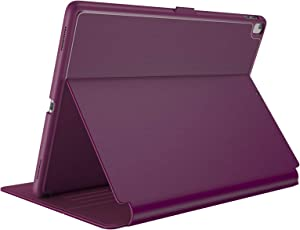 "Speck Products Compatible Case for Apple iPad 9.7"" (2017/2018, also fits 9.7"" iPad Pro/Air 2/Air), Balance FOLIO Case/Stand, Syrah Purple/Magenta Pink"